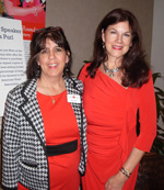 Mara Purl with Dot Teso, Executive Director for American Heart Association Colorado Springs