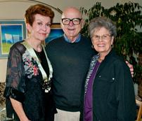 Elaine Evans, Simon Wilder & Margaret Wilder