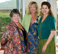 Kathe Tanner, Melanie Cleveland & Mara Purl