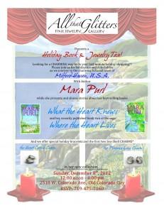 MaraPurl-Holiday 2012 Charm & Book Tea Invite