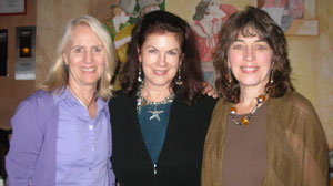 Mara Purl, Marcy Nunn and Maureen Cullum