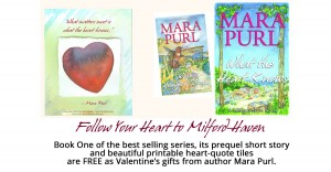 Milford-Haven Novels Follow Your Heart Campaign on Thunderclap