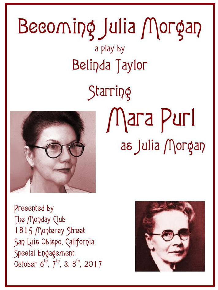 Julia Morgan - Mara Purl flier
