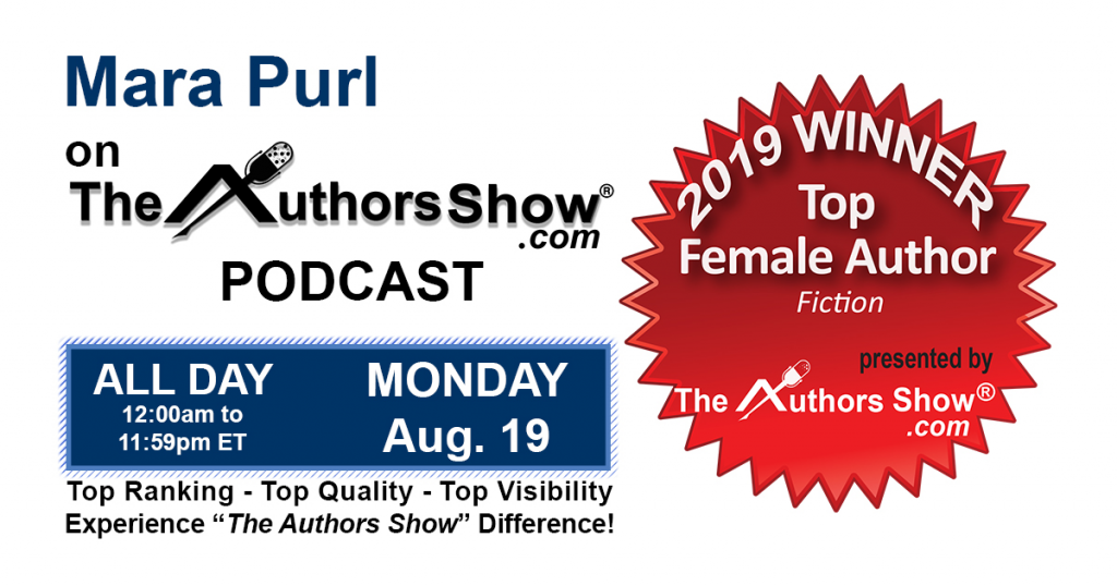 "Mara Purl – Featured Author on ""The Authors Show"""