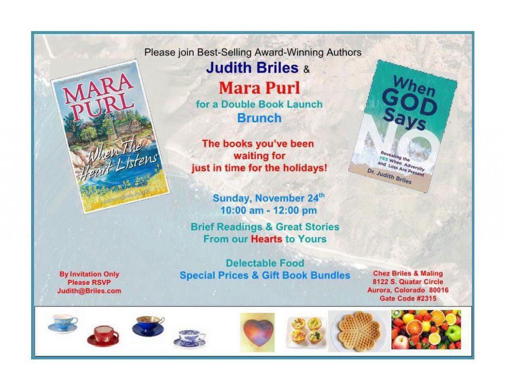 """Book Launch """"Heart"""" Brunch"""