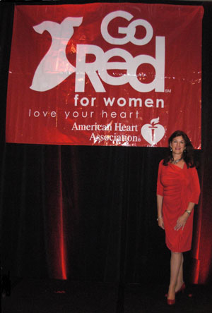 Mara Purl Go Red Keynote Speaker American Heart Association