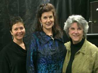 Liz Rosner, Mara Purl and Victoria Zackheim