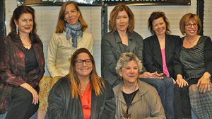 Mara Purl, Allison Bartlett, Zoe Carter Fitzgerald, Sylvie Simmons, Barbara Graham Pam Houston, Victoria Zackheim