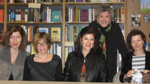 Zoe Carter Fitzgerald, Barbara Graham, Mara Purl, Victoria Zackheim, Sylvie Simmons